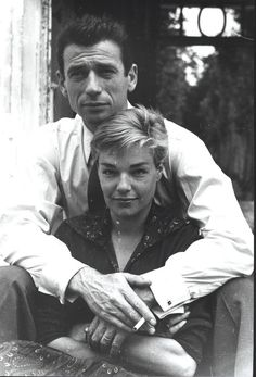 Yves Montand et Simone Signoret via @Julieta451  c @mvoinchet