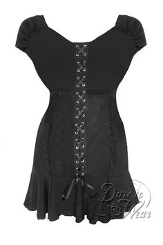 Cabaret S/S Top in Black
