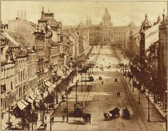 prague 1900 | Wenceslas Square, Prague, Czech Republic, 2013