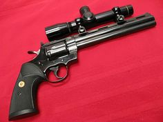 .357 Magnum Colt Python Hunter with optic scope.