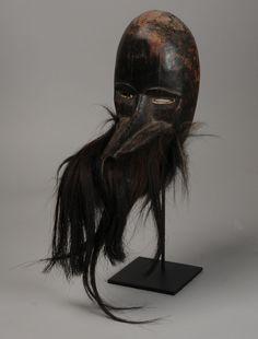 Africa | a Dan Monkey Mask | Liberia.