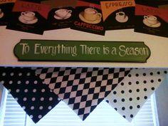three squares of fabric  EASY!