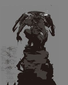 Character Sketches, Character Illustration, Character Art, Illustration Art, Character Concept, Dark Fantasy, Fantasy Art, Humanoid Creatures, Alien Concept Art