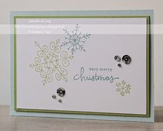 Stampin' Up! Demonstratrice Janneke : Stampin' Up! - Very Merry