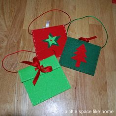 #christmas craft DYI gift card holders or ways to gift cash.