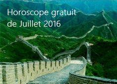 Horoscope complet du mois de Juillet en amour, argent et travail.