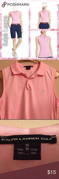 Ralph Lauren Sleeveless 👕 Polo Ralph Lauren Sleeveless 👕 Polo. Perfect Condition. Ralph Lauren Tops