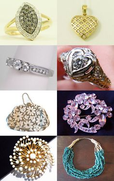 Classy Rings and Accessories  - VJT by Helen Tidwell on Etsy--Pinned with TreasuryPin.com