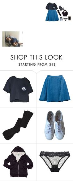 """""""why do the boys always hurt my feelings?"""" by lostboy-hood ❤ liked on Polyvore featuring NIKE, Pull&Bear, Superga, GAS Jeans, C&C California and Lonely"""