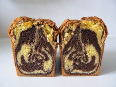 Cake marbré Valrhona