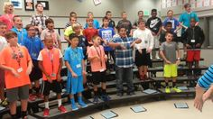 "Amazing warm up ideas! - Ashley Delaney, Harpool Middle School Men's Choirs ""Where are the Wild T. Music Lessons For Kids, Singing Lessons, Singing Tips, Piano Lessons, Learn Singing, Choir Warm Ups, Middle School Choir, Elementary Choir, Choir Room"