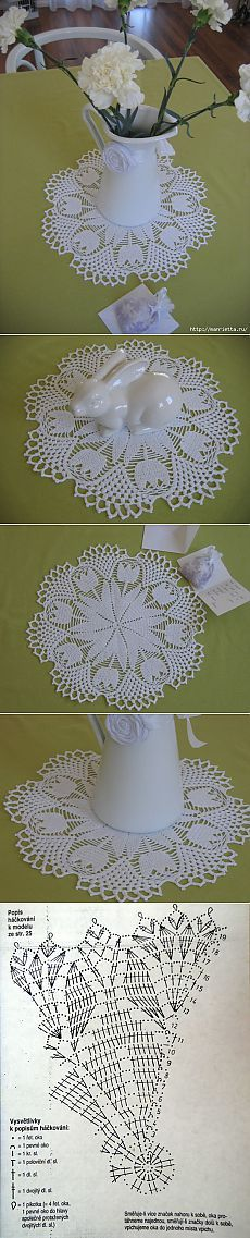 doily PICONLY - chart does not match the doily.  Gorgeous doily though