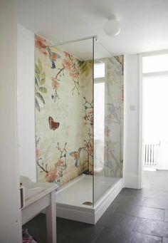 Faszinierende Akzentwand Im Badezimmer Mehr Badewanne ...