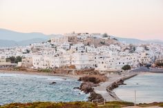 A Complete Travel Guide to Naxos, Greece - Urban Wanders Naxos Greece, Paros, Croatia Travel, Greece Travel, Travel Tips For Europe, Travel Guide, Greece Culture