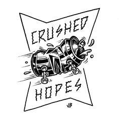 Crushed Hopes  jamiebrowneart.com