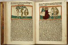 Speculum humanae salvationis. (Imprenta). Libros de moral vinculados con las creencias, extendidos a partir del s XV