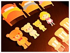 Grumpy Dumpling: Goldilocks and the Three Bears with Printed Props