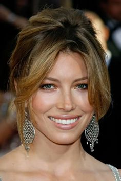 Everyone Best -- Jessica Biel , Best and Worst Celebrity Updos for Your Face Shape