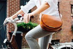 Cuyana large saddle bag
