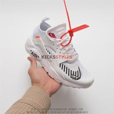 huge sale 2a92b b3c35 Custom Off-White x Nike Air Huarache Run Ultra White