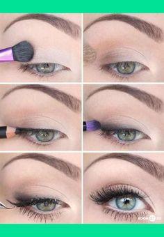Helpful natural eye tutorial
