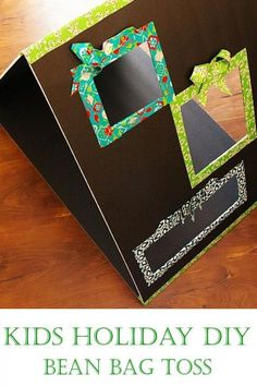Brassy Apple: Duck Tape DIY Bean Bag Toss game - #DucktheHalls #party #Christmas