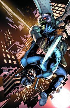 #Nightwing #Fan #Art. (NIGHTWING #142) By: Rags Morales. (THE * 5 * STÅR * ÅWARD * OF * MAJOR ÅWESOMENESS!!!™)