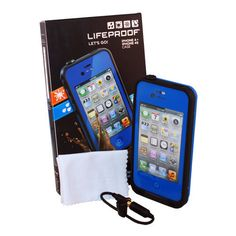 lifeproof case iphone 4s blue