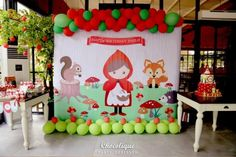 Little Red Riding Hood Woodland Party Full of Really Cute Ideas via Kara's Party Ideas | KarasPartyIdeas.com #LittleRedRidingHoodParty #WoodlandParty #Party #Ideas #Supplies (3)