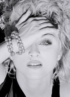 Madonna has one eye hidden and proving, once again, that she is 100% on board the occult elite's agenda.
