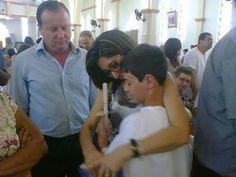 BERNARDO UGLIONE BOLDRINI  com a família  PETRY