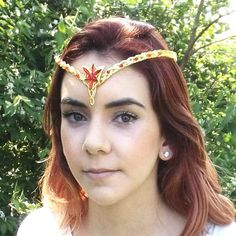 Fairy jewelry, Elven finery, magical wedding accessories handmade to order. Featuring elf ear cuffs, circlets, tiaras and crowns. Fairy Jewelry, Fantasy Jewelry, Hot Hair Styles, Natural Hair Styles, Elf Ear Cuff, Magical Wedding, Circlet, Different Hairstyles, Tiaras And Crowns