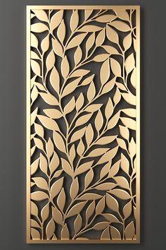 Laser Cut Screens, Laser Cut Panels, Decorative Metal Screen, Decorative Panels, Glass Partition Designs, Glass Design, Fashion Wall Art, Fashion Painting, Jaali Design