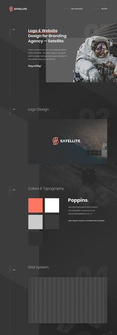 Satellite - Branding Agency. Logo & Website Design. on Behance