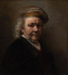 Rembrandt van Rijn (1606-1669), Self-Portrait, 1669. Oil on canvas, 65.4 x 69.2 cm.