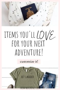 Get custom handmade items that are perfect to pack for your next vacation and adventure! You'll love these for yourself or as a gift to a loved one.