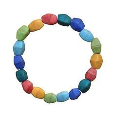Multicolor Rainbow Glass Pebbles Bracelet - Global MamasGlobal Mamas' beads are handmade from recycled glass using ancient tr Artisan Jewelry, Handcrafted Jewelry, Handmade Bracelets, Beaded Bracelets, Rainbow Glass, Fair Trade Jewelry, Recycled Glass, Recycled Crafts, Jewelry Patterns