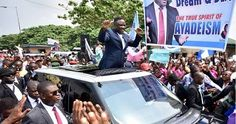 Cross River Governor, Ben Ayade Shows Off Dancing Skills after Supreme Court Victory (Photos)