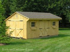 Garages & Large Storage Album | Image #1 | Backyard Unlimited