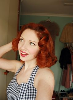 Beautiful vintage hair