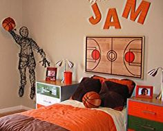 sports themed bedrooms | Decorating a Sporty Themed Room | Interior Decorating Tips