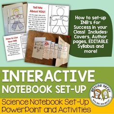 An easy how-to guide for setting up Interactive Notebooks in your science class - complete with PowerPoint and tons of handouts!