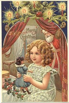 There was a time when a doll was all it took to make a little girls Christmas perfect ... Those were the days ...