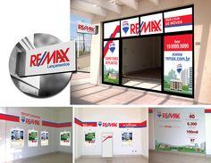 Proposta de visual para loja Re/Max de Sumaré/SP