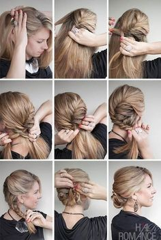 A new hairstyle tutorial for you, with an interesting twist on the fishtail braid. Sometimes referred to as a seashell braid, this curving fishtail does have a shell-like quality and it's a beautiful upstyle for day or night (from here). Instructions: Step 1 – Brush your hair back to remove …