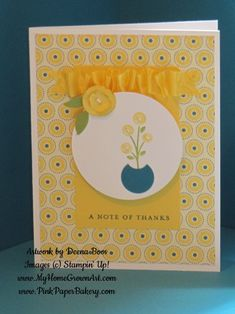 Bright Blossoms by dboos - Cards and Paper Crafts at Splitcoaststampers