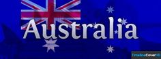 Australia Flag Timeline Cover 850x315 Facebook Covers - Timeline Cover HD