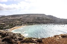 Gnejna Bay in Malta Malta Beaches, Travel Destinations, Water, Outdoor, Water Water, Aqua, Outdoors, Destinations, Outdoor Games