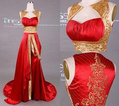 New Design Gold and Red Embroidery Beading Long Prom Dress/Embroidery Prom Dress. - New Design Gold and Red Embroidery Beading Long Prom Dress/Embroidery Prom Dress/Red Prom Dresses/Unique Prom Dress 2015 Source by - Prom Dresses 2015, Unique Prom Dresses, Trendy Dresses, Beautiful Dresses, Prom Gowns, Long Dresses, Dress Long, Long Gowns, Dresses Dresses