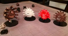 Dr. Worldcrafter's Directory of 589 3D Printable Minis http://3dprint.com/54668/directory-gaming-mini-designs/
